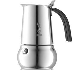Bialetti Kitty Elegance Coffee Maker suitable for induction hobs - 6 cups