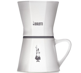 Dripper Bialetti 6361 conique céramique 2 tasses