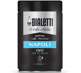 Bialetti Napoli Forte ground coffee for Moka Pot - 250g tin