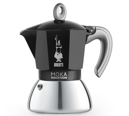 Cafetière italienne induction Bialetti New Moka Induction noire - 6 tasses