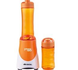 Blender Ariete Drink'ngo orange avec 2 tumblers
