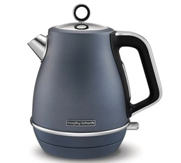 Bouilloire Evoke Jug Steel Blue 1.5L - Morphy Richards