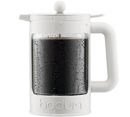 Cafetière à piston Bodum Bean blanche pour café glacé 150cl