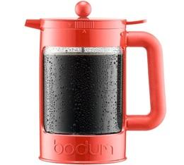 Cafetière à piston Bodum Bean rouge pour café glacé 150cl