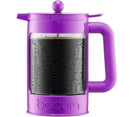 Cafetière à piston Bodum Bean violette pour café glacé 150cl