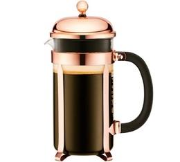 Cafetière à Piston Bodum Chambord Classic cuivre rose - 1L