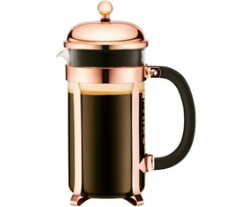 Bodum Chambord Classic French Press in rose gold colour - 1L