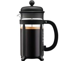 Cafetière à piston Bodum Java Noire 1L
