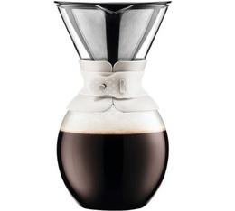 Cafetière filtre Bodum Pour Over blanche 12 tasses
