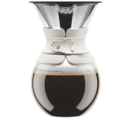 Bodum Pour Over Coffee Maker in white - 8 cups