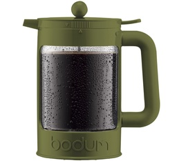 Cafetière à piston Bodum Bean Cold Brew Color verte olive pour café glacé 150cl
