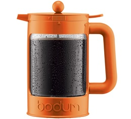 Cafetière à piston Bodum Bean Cold Brew Color Orange pour café glacé 150cl