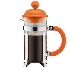 Cafetière à Piston Bodum Caffettiera Orange Urban Color 35cl