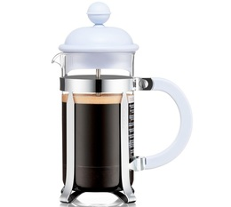 Bodum French Press Caffettiera Plastic and Stainless Steel Blue Moon - 3 cups