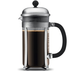 Bodum Chambord French Press in brushed stainless steel - 1L
