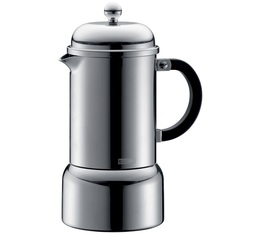 Bodum Chambord Moka Italian Coffee Maker Stainless Steel - 6 cups