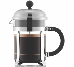 Bodum Chambord® French Press Plastic and Stainless Steel Chrome - 4 cups
