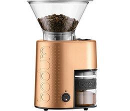 Moulin à café électrique Bistro BODUM cuivre