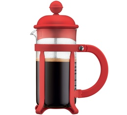 Cafetière à piston Bodum Java Rouge 35cl