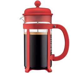 Cafetière à piston Bodum Java Rouge 1L