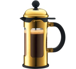 350ml New Chambord gold-coloured French Press coffee maker - by Bodum