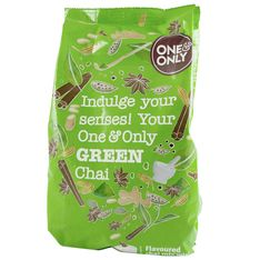 Boisson frappée 'Green Chai' 1Kg - One and Only