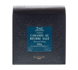 Thé Oolong caramel au beurre salé - Boîte de 25 sachets cristal  - Dammann Frères