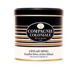 Boite Luxe Thé noir Ceylan OPHG - 100g - Compagnie Coloniale