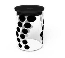 Boîte DOT DOT Zak! Designs en verre - Noire - 900 ml