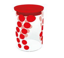 Boîte DOT DOT Zak! Designs en verre - Rouge - 900 ml