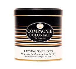 Boite Compagnie Coloniale Thé noir Lapsang Souchong - 100 gr