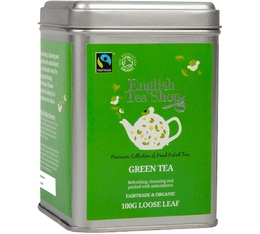 Boite - Thé Vert bio/fairtrade - 100g - English Tea Shop