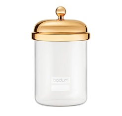 BODUM Classic container with gold-plated lid - 0.5L