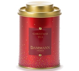 'Christmas Tea' flavoured black tea - 100g loose leaf in special tin - Dammann Frères