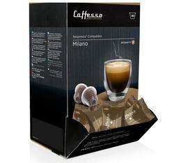 Boite distributrice de 60 Milano Caffè Caffesso compatible Nespresso