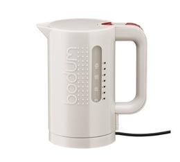 Bouilloire électrique Bodum Bistro blanc crème 1L