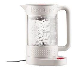 Bouilloire Bodum Bistro réglable blanche double paroi 1,1L