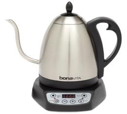 Bouilloire électrique à température variable 1L Bonavita + Offre cadeau