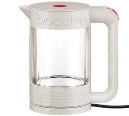 Bouilloire électrique Bodum Bistro transparente double paroi blanc crème 1,1L