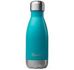 Bouteille isotherme inox bleu turquoise 26 cl - Originals Qwetch