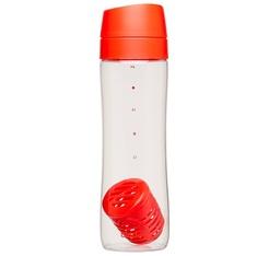 Bouteille avec infuseur d'arômes - 70 cl - rouge - ALADDIN