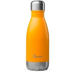 QWETCH insulated drinking bottle in saffron - 260ml