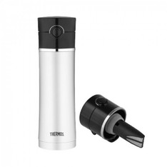 Stainless steel Sipp bottle 470ml with tea infuser - Thermos