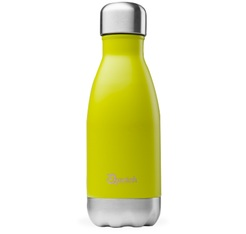 QWETCH insulated drinking bottle in mustard colour - 260ml