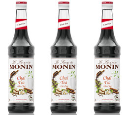 Lot de 3 Sirops Monin - Thé Chaï - 3 x 70cl