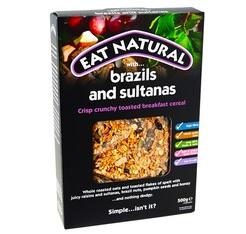 Céréales Brazil Sultana - Noix du Brésil et raisins Sultana 500g