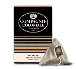Thé noir Breakfast Compagnie Coloniale x 25 Berlingo®