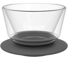 Dripper Brewista Smart Dripper fond plat en verre 4 tasses