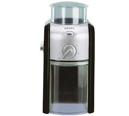 Moulin à café inox/noir GVX2 - Krups
