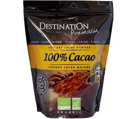 Pur Cacao Maigre 10-12% MG sans sucre Bio - Destination - 250 gr